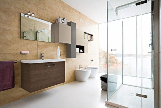 moderne badkamer 1. Black Bedroom Furniture Sets. Home Design Ideas